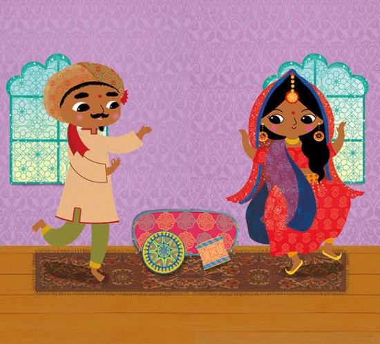 danse-indienne